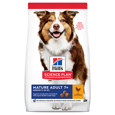 Hills Canine Mature Medium Chicken 14kg