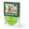 Loppemiddel Advantage hund 25-40kg  4x4ml